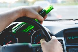 Driving with a beer bottle in hand - DUI Defense in VA